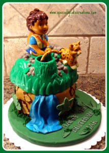 Diego & Baby Jaguar Cake