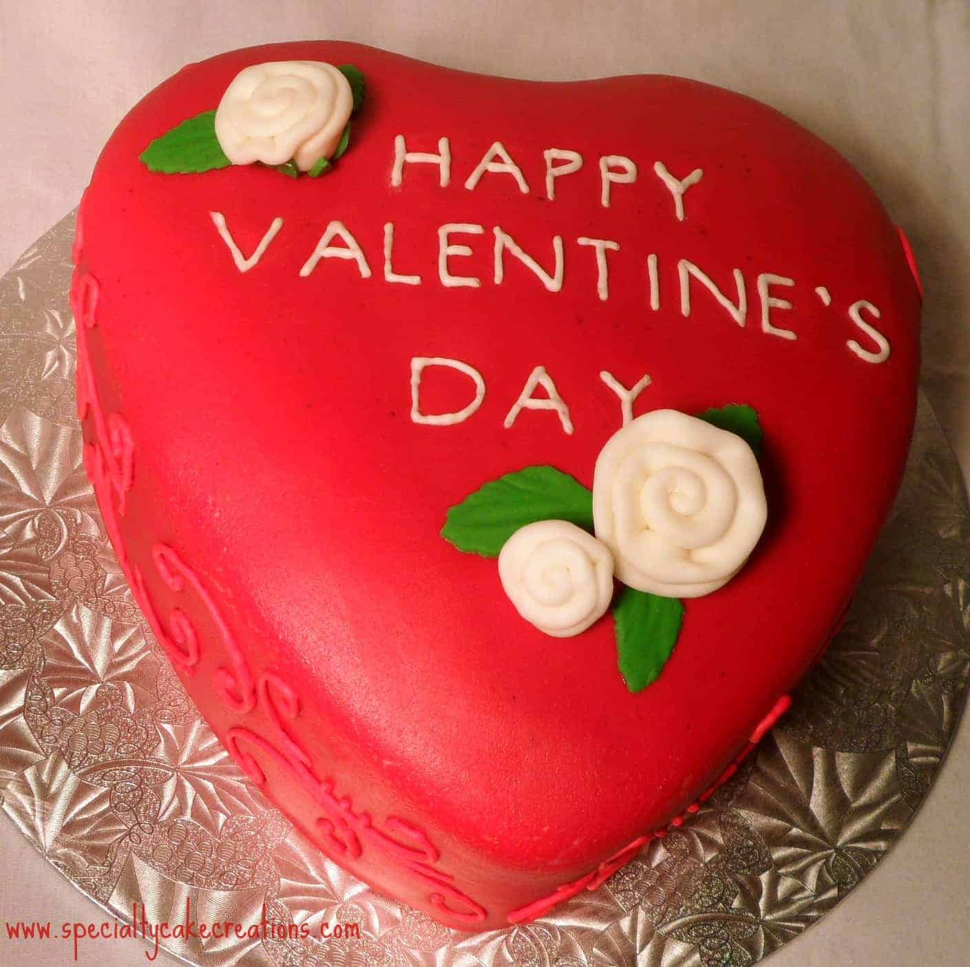 Valentines Cake Happy Valentine's Day:...