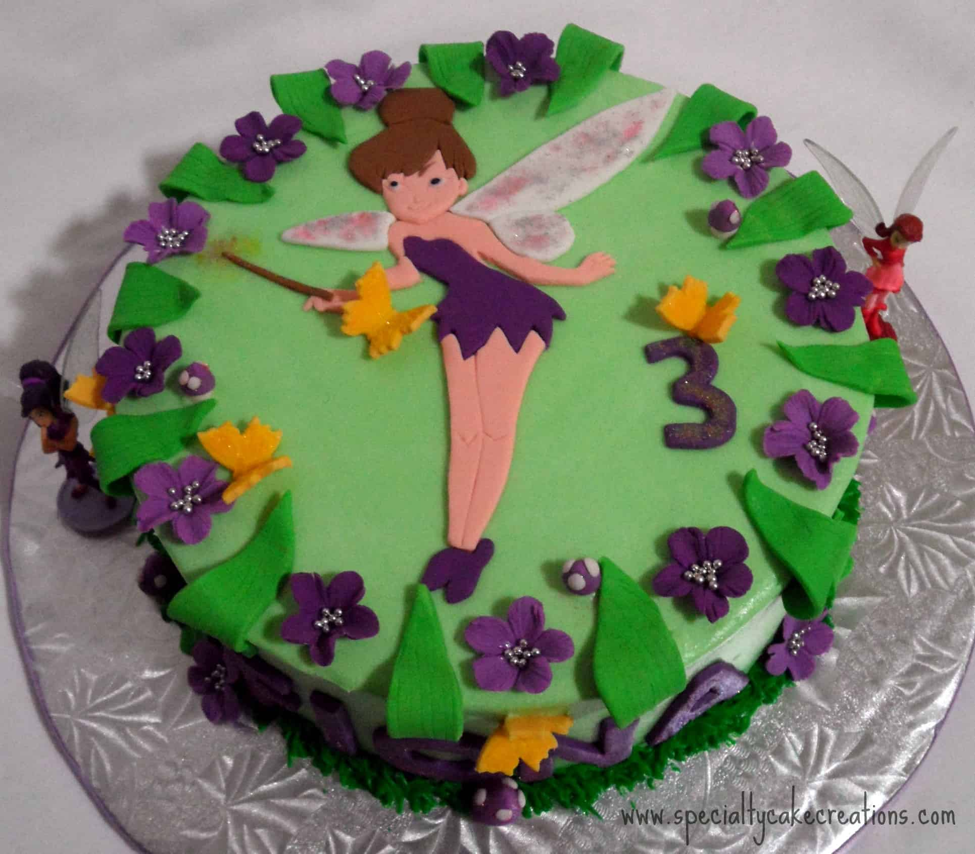 Specialty fairy cake for Fairy cakes