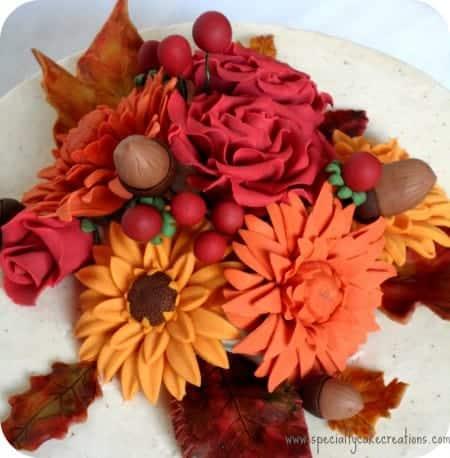 Gumpaste Decorations for Cake Topper