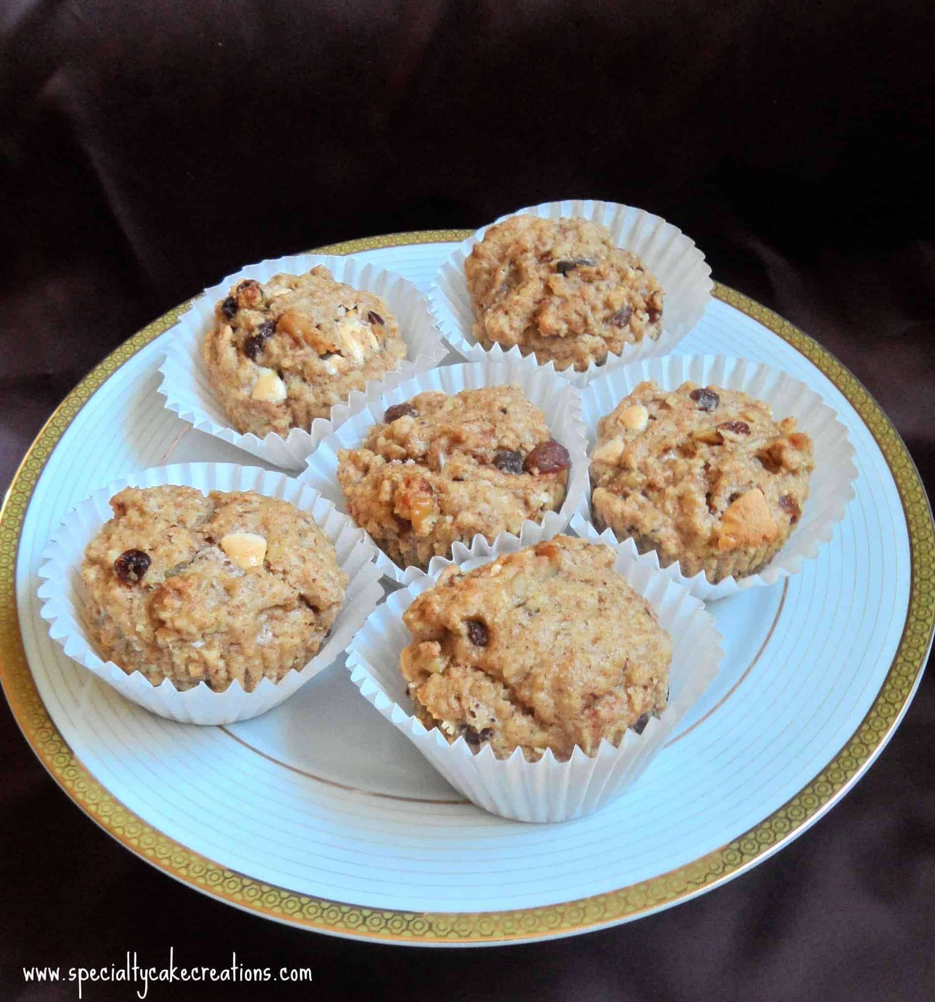 Grain-Free Coconut Flour Pumpkin Muffins : LeelaLicious