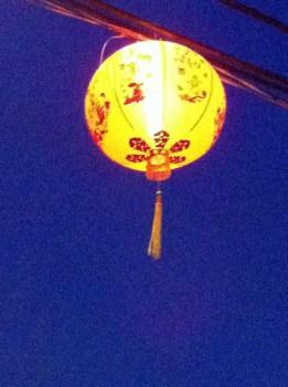 Single Chinese Lantern