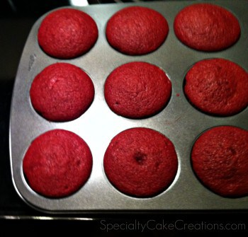 Red Velvet Cupcakes in Tin