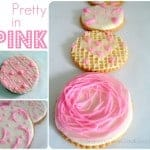 Pretty in Pink – Valentine's Day Cookies