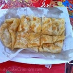 Thai Pancake Served in Paper