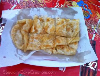 Thai Pancake in Paper
