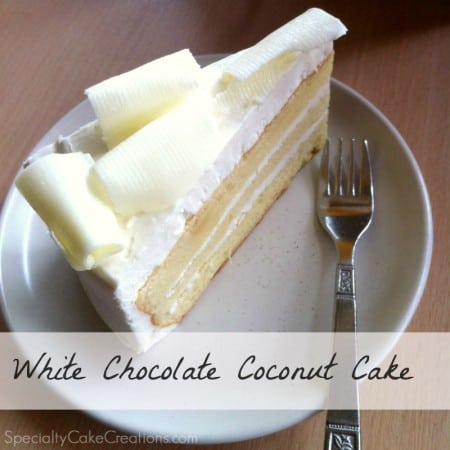 Thai Cafe Coconut Cake Recipe