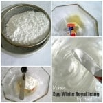 Preparing Homemade Royal Icing