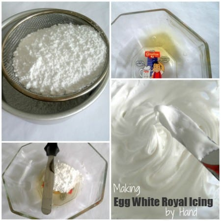 Making Royal Icing by Hand