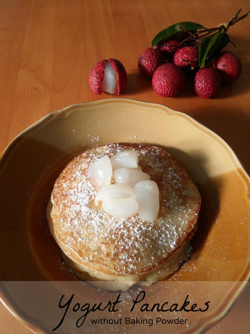 Yogurt Pancakes With No Baking Powder