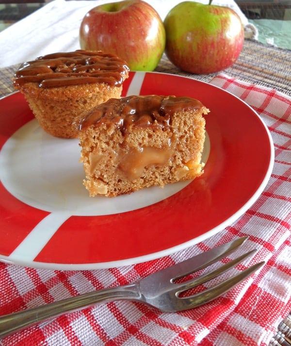 Apple Caramel Cupcakes