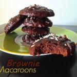 Stacked Brownie Macaroons