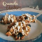 Granola Clusters made with Muesli