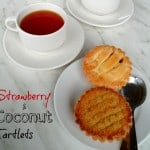 Strawberry and Coconut Tartlets