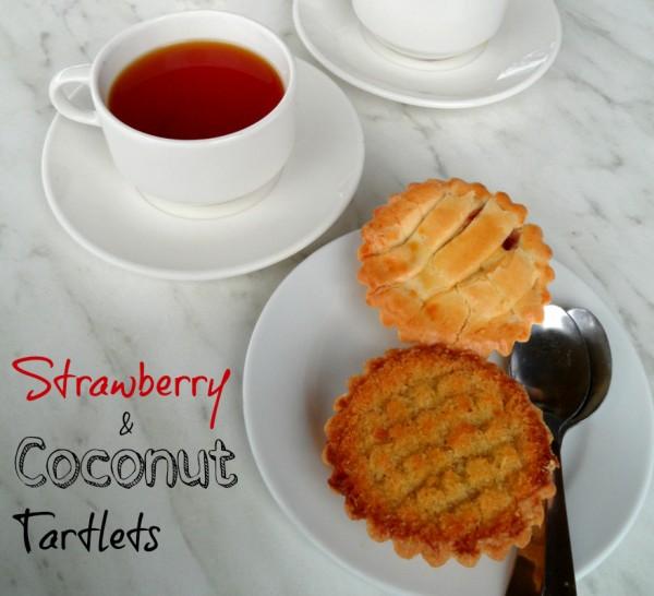 Strawberry Coconut Tartlets