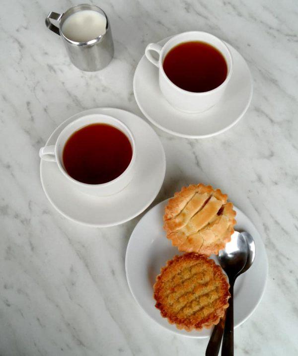 Mini Tarts with Tea