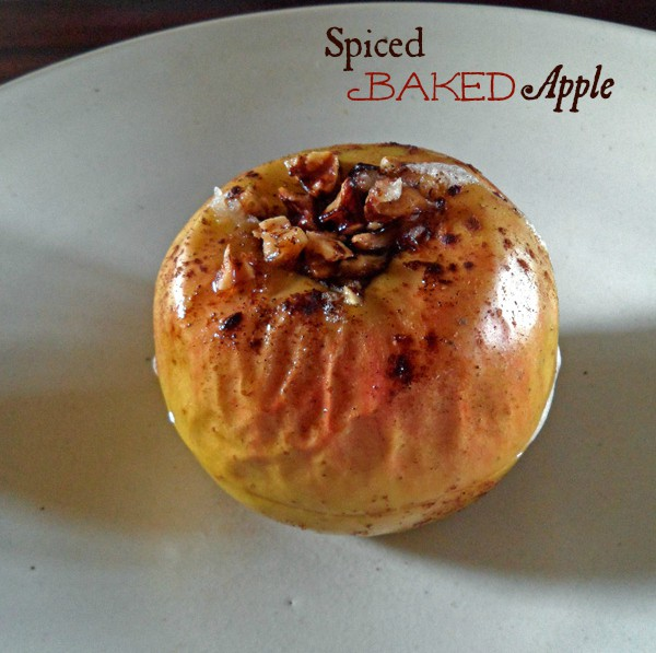 Spiced Baked Apple