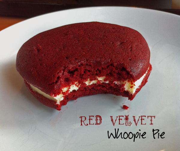 Red Velvet Whoopie Pies – LeelaLicious