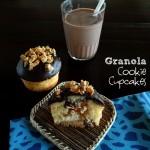 Granola Cookie Cupcakes