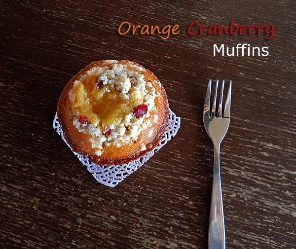 Orange-Cranberry Muffin
