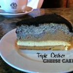 Triple Decker Cheesecake