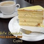 White Chocolate Macadamia Cake