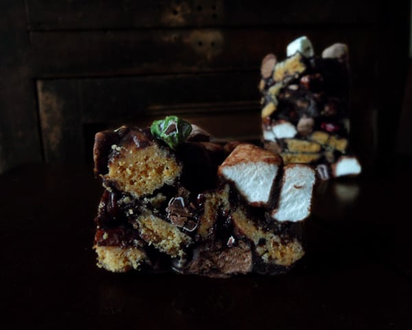 Rocky Road Bars with Marshmallows