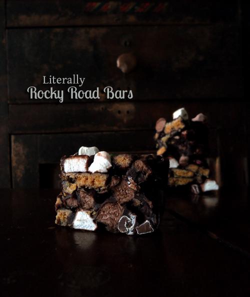Literally Rocky Road Bars