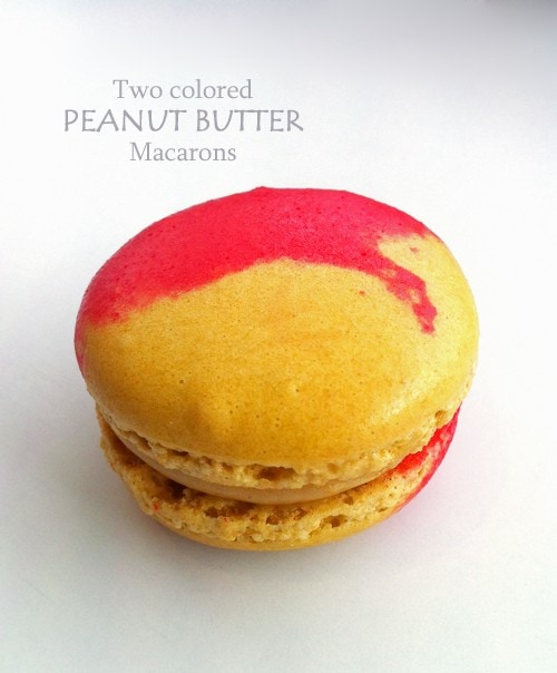 Red and Yellow Macarons