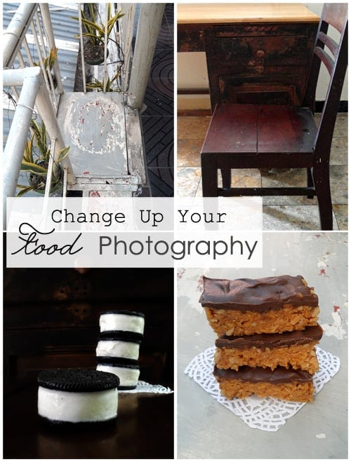 Change up your Food Photography