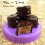 Chocolate Dipped Peanut Butter Banana Bites
