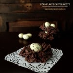 Chocolate Easter Egg Nests
