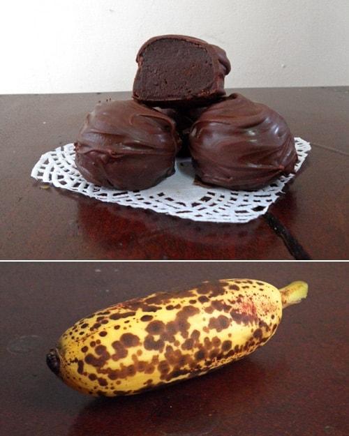 Chocolate Banana Truffles | leelalicious.com