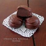 Chocolate Banana Truffles