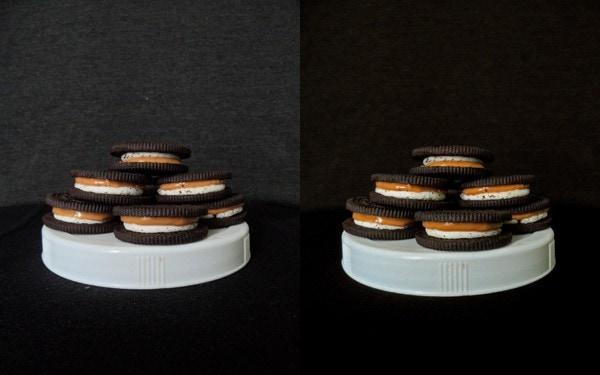 Contrasting Chocolate Cookie Photos