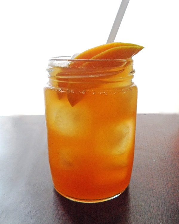 Mango Leaf Tea Mango Iced Tea | Leelalicious