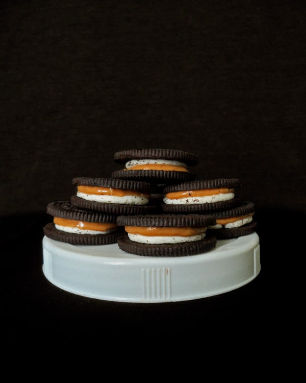 Chocolate Cookies with Moody Photography