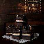 Peanut Butter Oreo Chocolate Fudge