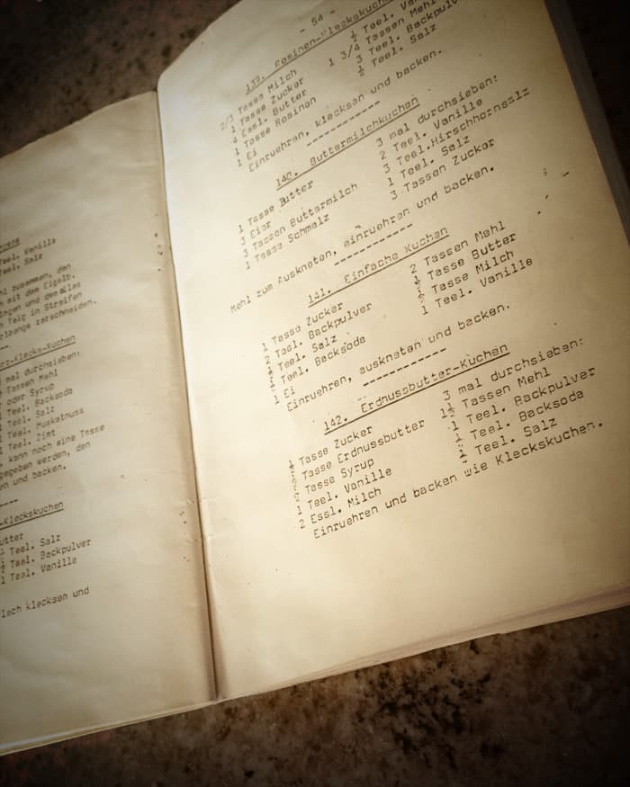 Vintage Mennonite Recipe Booklet