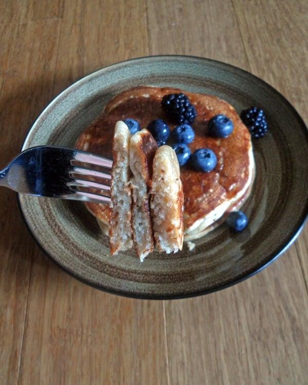 Forkful of Pancakes
