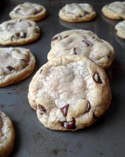 Coconut Oil Chocolate Chip Cookies 4