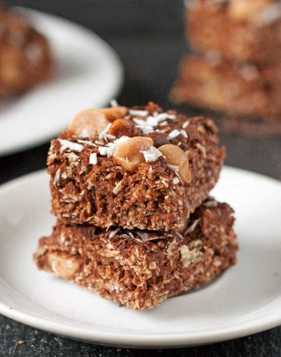 Coconut Peanut Butter Chocolate Bars