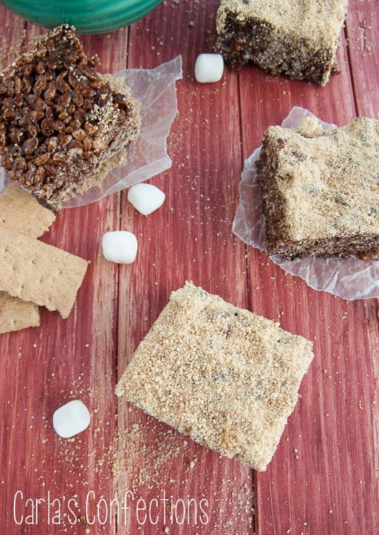 S'mores Rice Treats