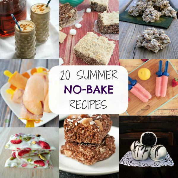 Summer No-Bake Recipes Round Up