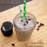 Oreo Coffee Banana Smoothie