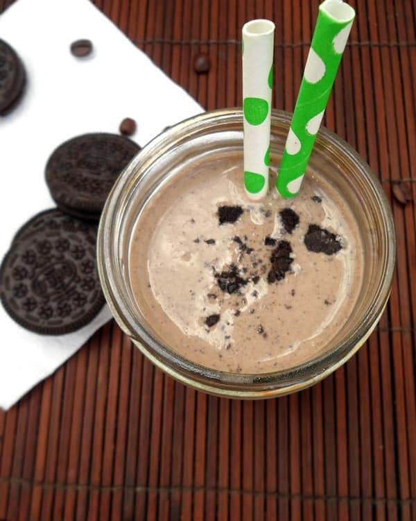 Skinny Oreo Coffee Milkshake