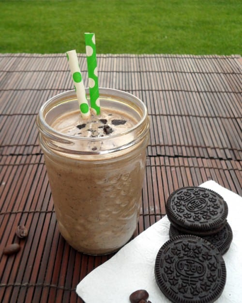 Oreo Coffee Banana Smoothie 3