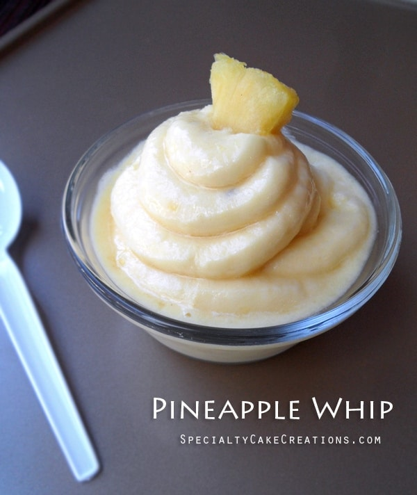 Pineapple Whip - Soft Serve-like Frozen Dessert from leelalicious.com
