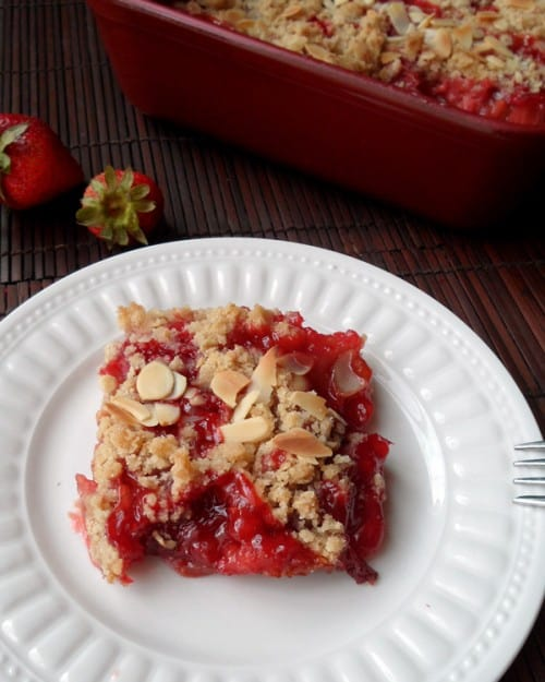 Strawberry Rhubarb Crisp 2