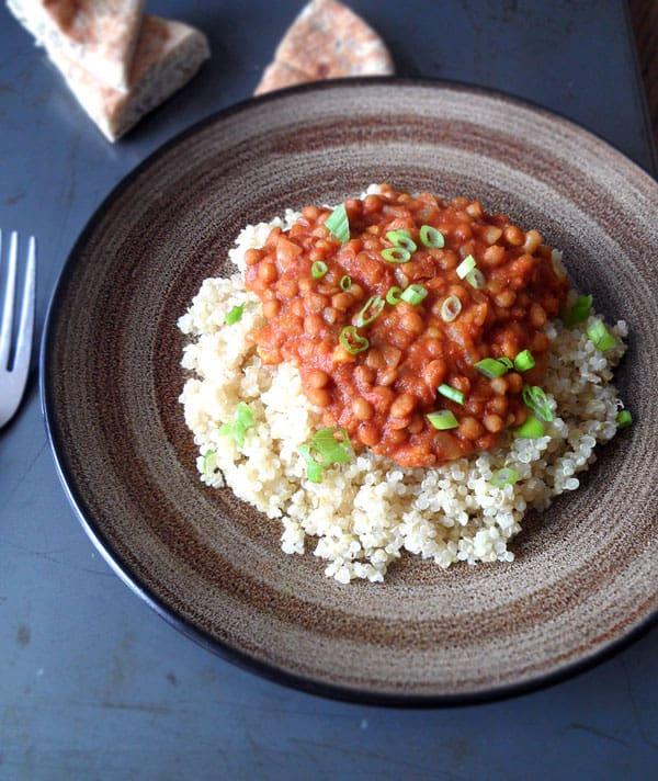 Thai Inspired Lentil Curry